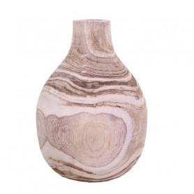 Vase en bois Diggory - Grossiste décoration