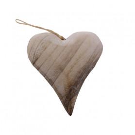 Coeur allopngé en bois à suspendre Lovegood - Fournisseur fleuriste