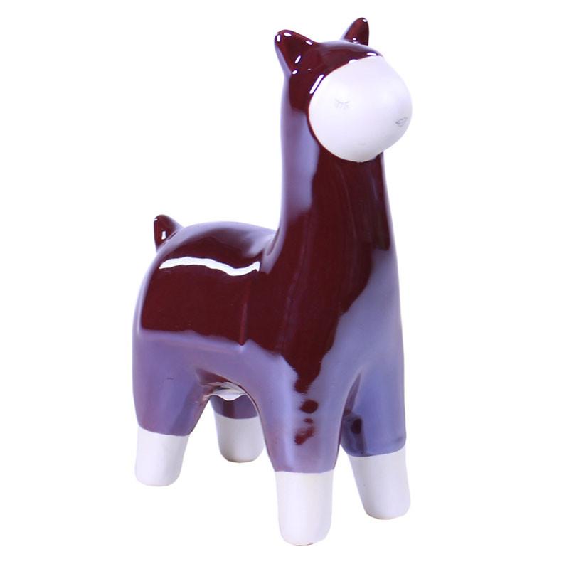 Lama en céramique Chobaku - Grossiste déco