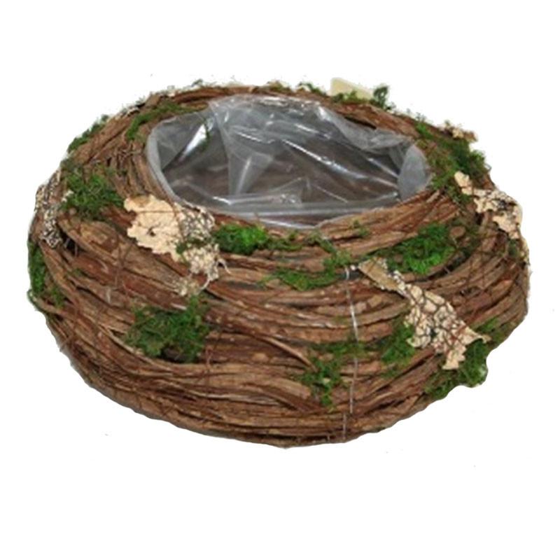 Coupe ronde feuille et mousse Terioty - Grossiste fleuriste