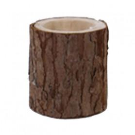 Cache-pot en bois Tronou
