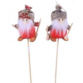 Pic Père Noël Skisou - Grossiste décoration florale