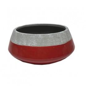 Coupe bicolore en céramique Stabe - Matériel pour fleuriste