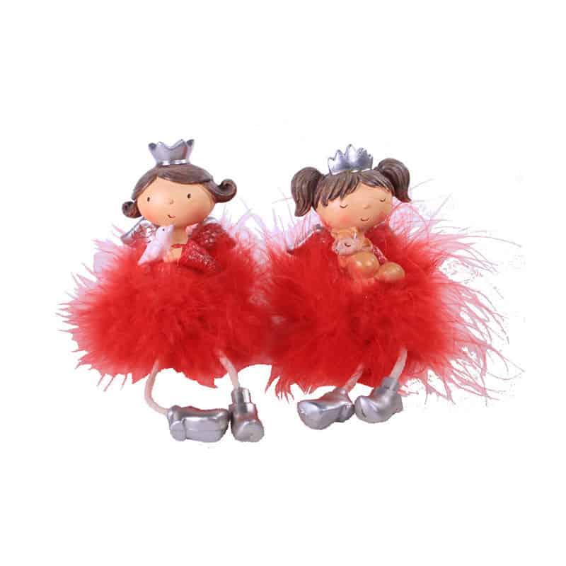 Figurines fées Lola et Emma - Fournitures fleuriste