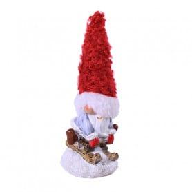 Père Noël Skieur - Grossiste décoration florale