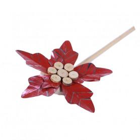 Fleur en métal à suspendre Manaé - Grossiste fleuriste