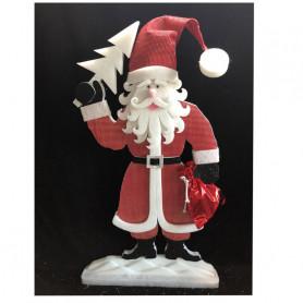 Père Noël à poser Kouer - Grossiste fleuriste