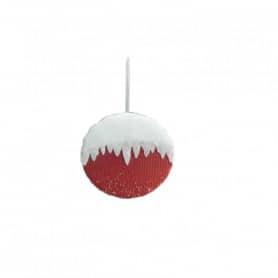 Boule de Noël à suspendre Vergla - Grossiste décoration florale