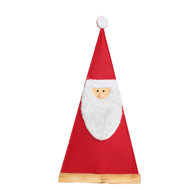 Père Noël feutrine Triangulou - Grossiste noel