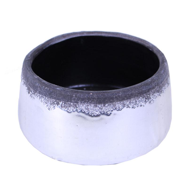 Coupe ronde en céramique dégradée Yve - grossiste fleuriste