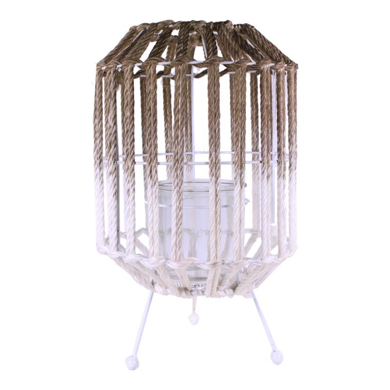 Lanterne décorative en corde Runda - grossiste en décoration