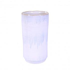 Vase bicolore en céramique - Grossiste décoration