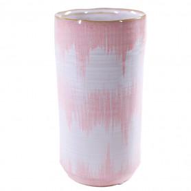 Vase bicolore en céramique - Grossiste fleuriste