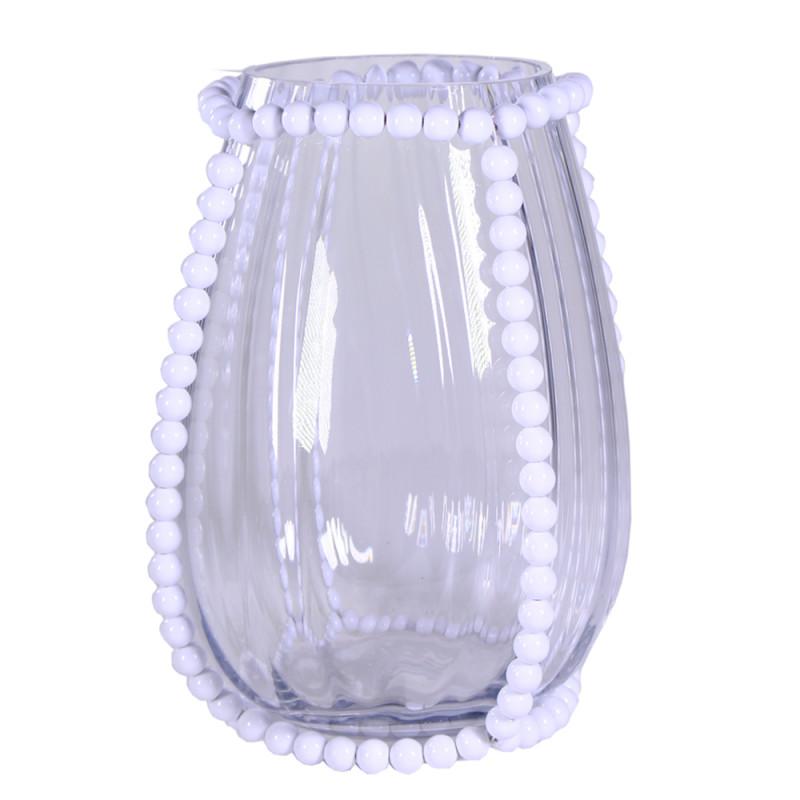 Vase en verre Perlaé - Grossiste matériel pour fleuriste
