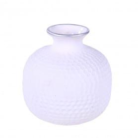 Vase en céramique blanc Baima - Grossiste fleuriste
