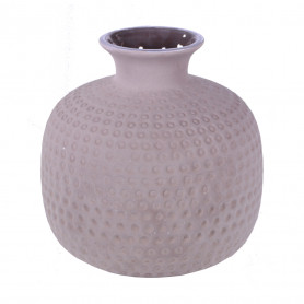 Vase en céramique gris Baimo - Grossiste fleuriste