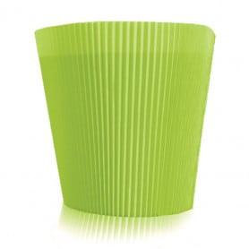 Manchette unie vert clair Ezra - Grossiste fleuriste