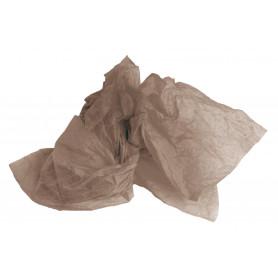 Mousseline taupe - Grossiste déco