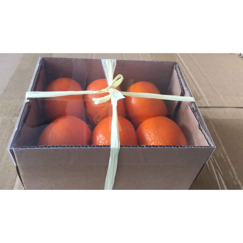 Mandarine artificielle décorative Mandy - Grossiste fleuriste