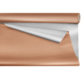 Papier opaline métal cuivre - Grossiste emballage