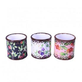 Cache-pot en céramique Fleurissy - Grossiste fleuriste
