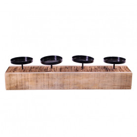 Support en bois pour 4...