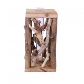 Éprouvette et support en bois flotté Flotary - Grossiste fleuriste