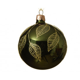Boule de Noël feuilles Cousy - Grossiste décoration