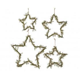 Set de 4 étoiles à suspendre Vitra - Grossiste déco