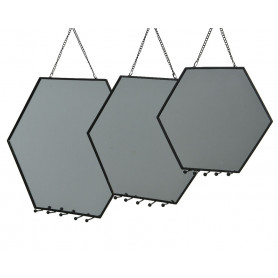 Set de 3 miroirs Hexagony - Grossiste fleuriste