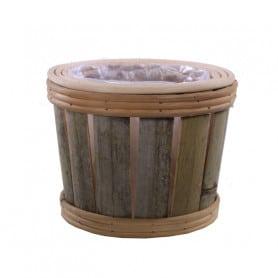 Coupe en bambou Batonas - Grossiste déco fleuriste