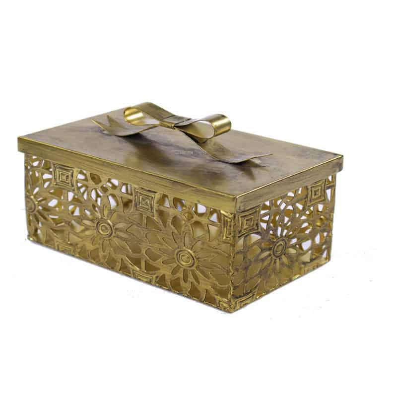 Boîte cadeau en métal Dekado - Grossiste décoration noel