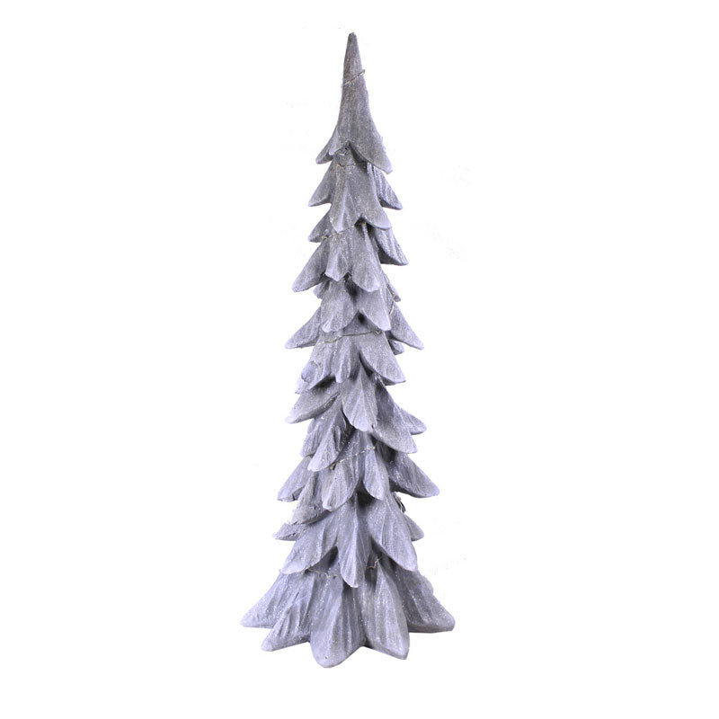 Sapin enneigé led Decoton - Grossiste noel