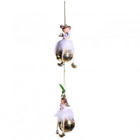 Assortiment de fées à suspendre Grelot - Grossiste fleuriste