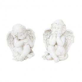 Figurines anges en résine...