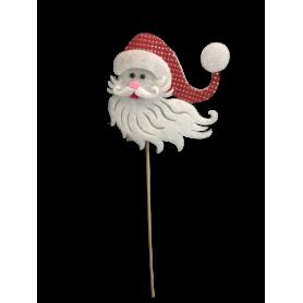 Pics Père Noël H. 35cm Pierre