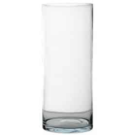 Vase cylindrique en verre Grando - Grossiste vase