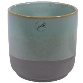 Cache-pot céramique base arrondie Nasio - Grossiste fleuriste
