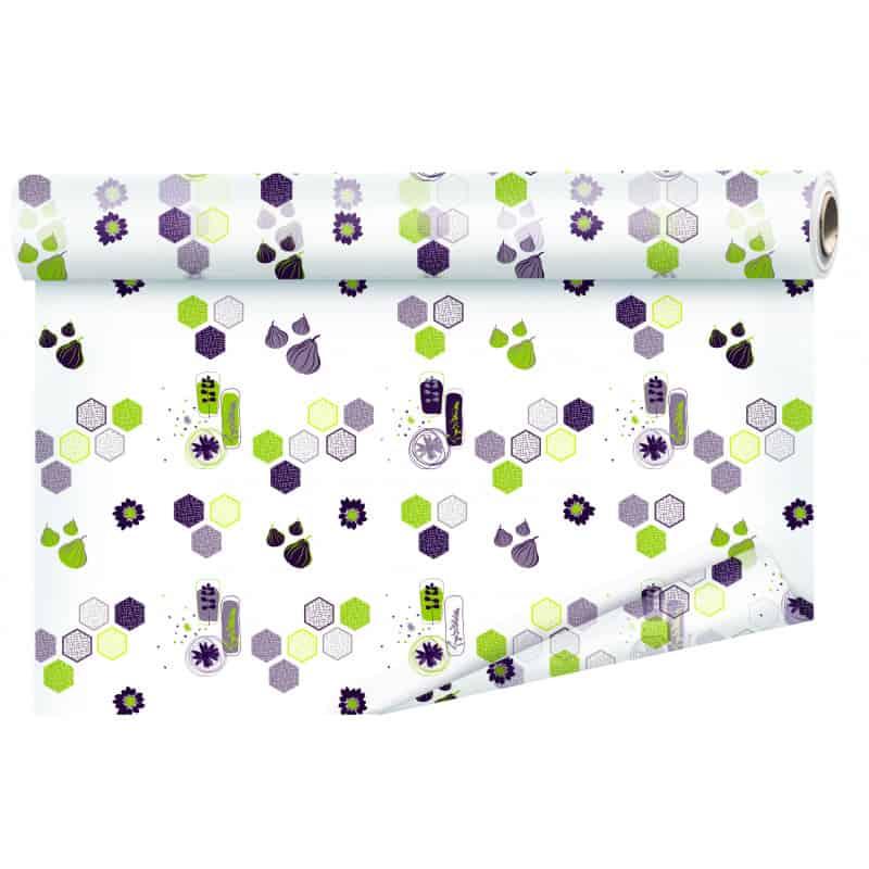 Papier cachotier violet Sarah - Grossiste fleuriste