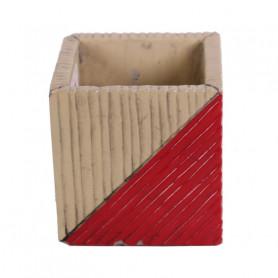Cache-pot carré céramique Lonsage - Grossiste poterie