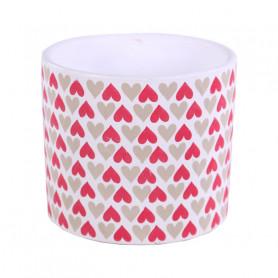 Cache-pot rond céramique Coeuro - Grossiste pot de fleurs