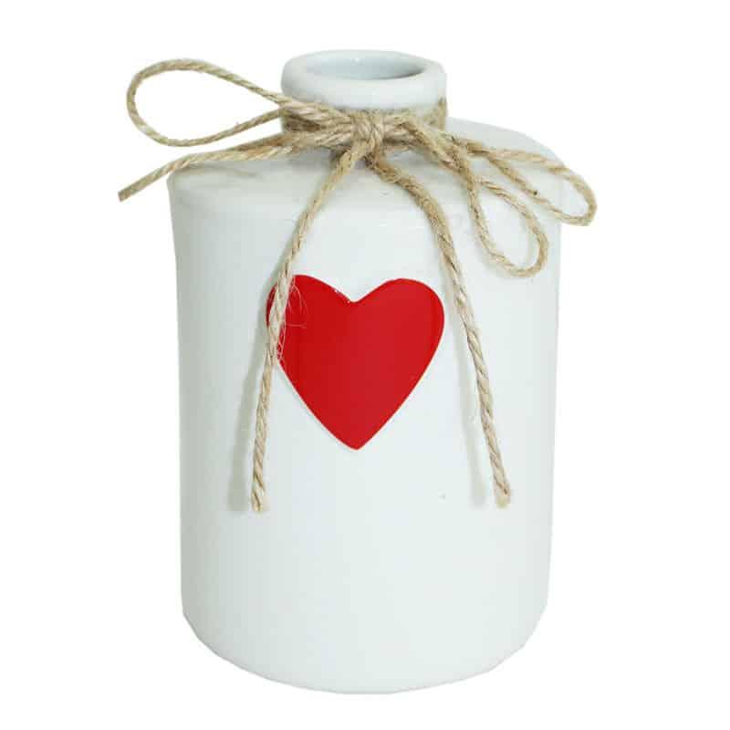 Soliflore céramique motif cœur Neut - Grossiste fleuriste