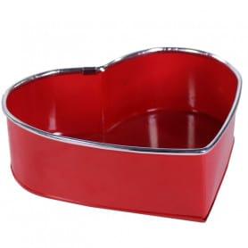 Coupe cœur en métal Erho - Grossiste zinc