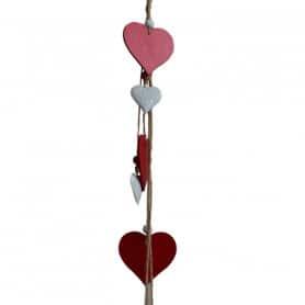 Guirlande coeur bicolore Gigu - Grossiste fleuriste