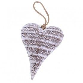 Cœur en métal à suspendre Kirz - Grossiste décoration