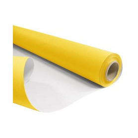 Papier kraft blanchi mat duo jaune et blanc - Grossiste emballage