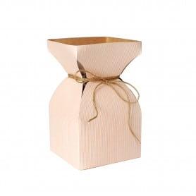 Vase kraft naturel Davidy -...