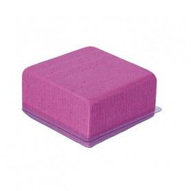 Demi cube en mousse avec...