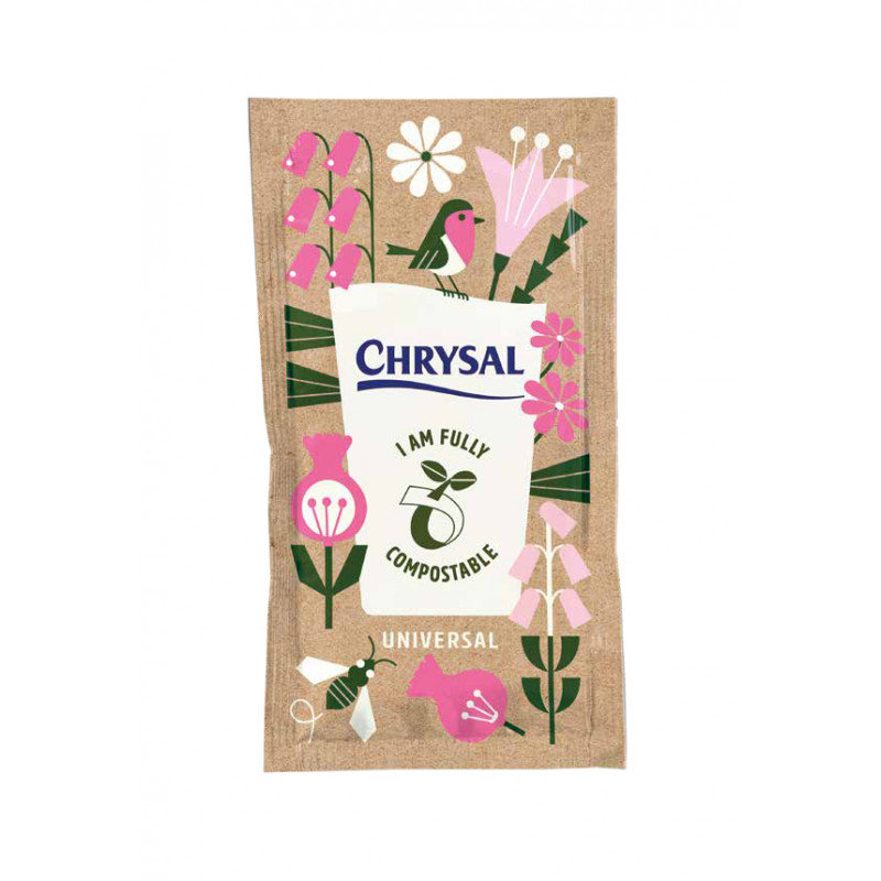 Sachet de nourriture 100% compostable Chrysal - Grossiste bio