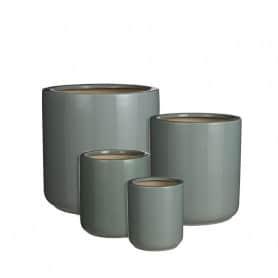 Set de 4 pots ronds en...